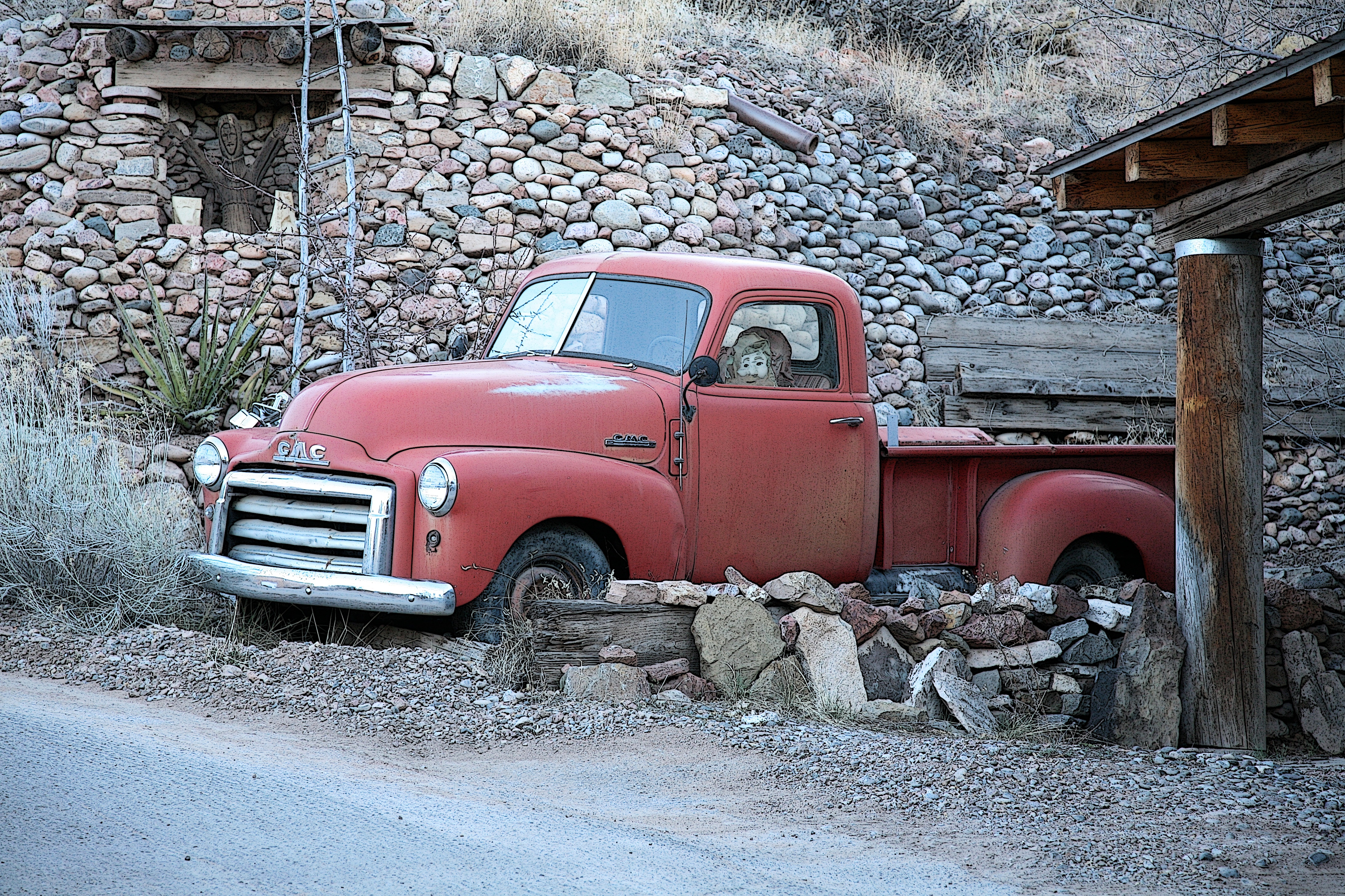 old red truck author lucke charlie