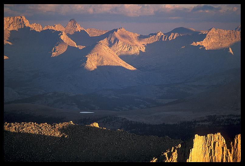 great western divide from mt whitney author ernst brian