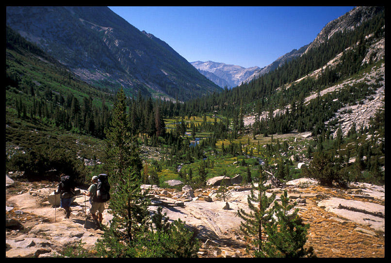 hiking towards little pete meadow author ernst br brian