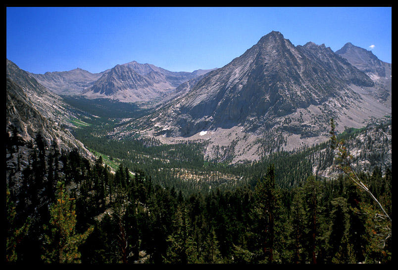 looking down towards vidette meadow author ernst brian