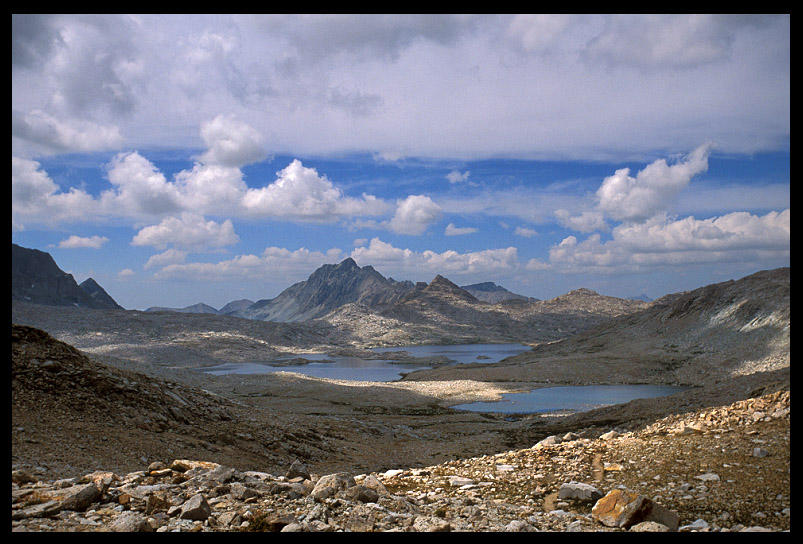 view north from muir pass author ernst brian