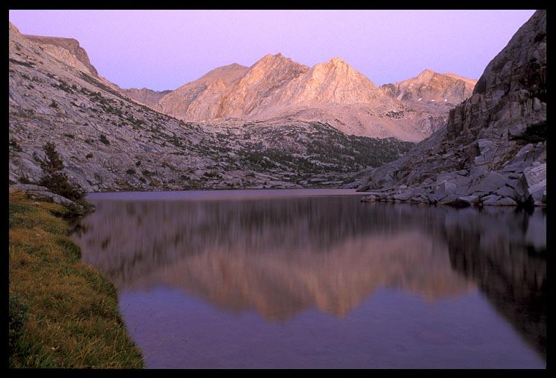 post sunset at lower palisade lake author ernst b brian