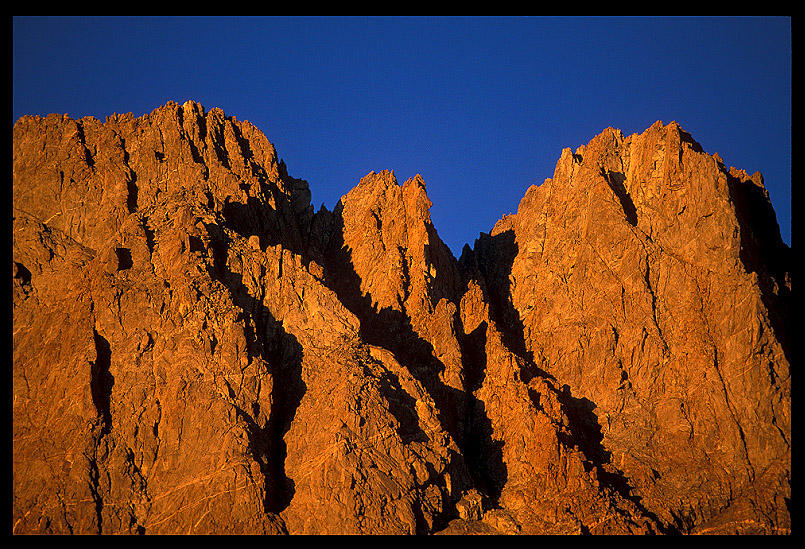sunset on palisade peaks author ernst brian