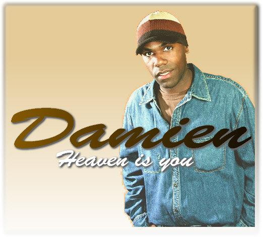 damien cd cover i did for this talented r b musi rowen bob