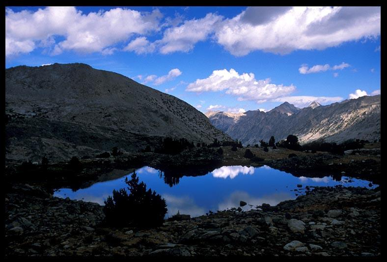 pond near trail towards forester pass author erns ernst brian
