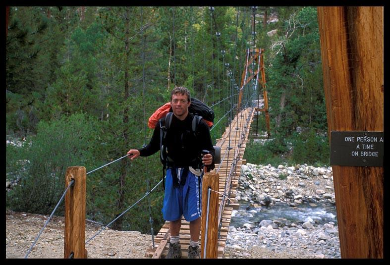 dave crossing the golden gate of jmt author ernst brian