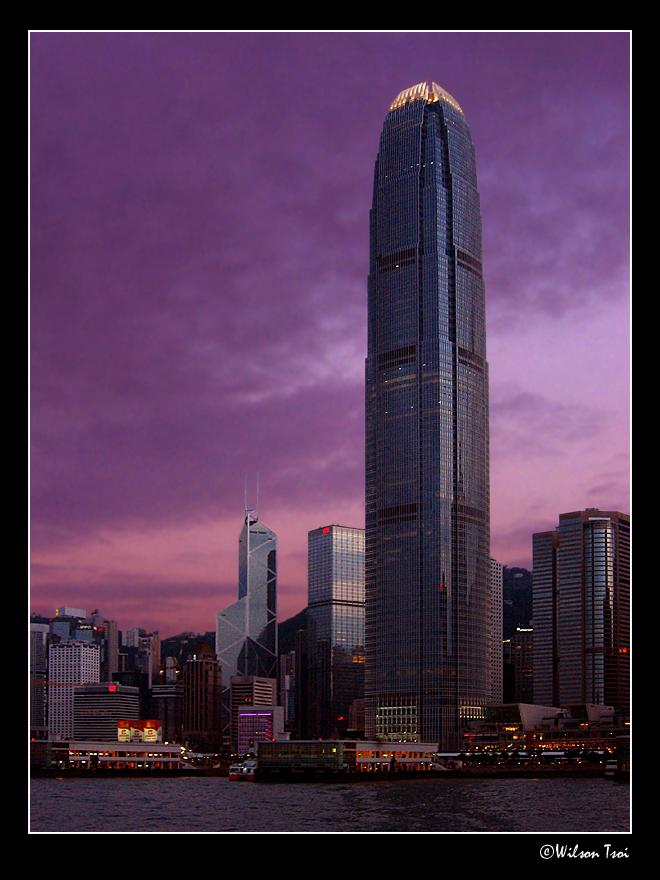 hong kong skyline author tsoi wilson