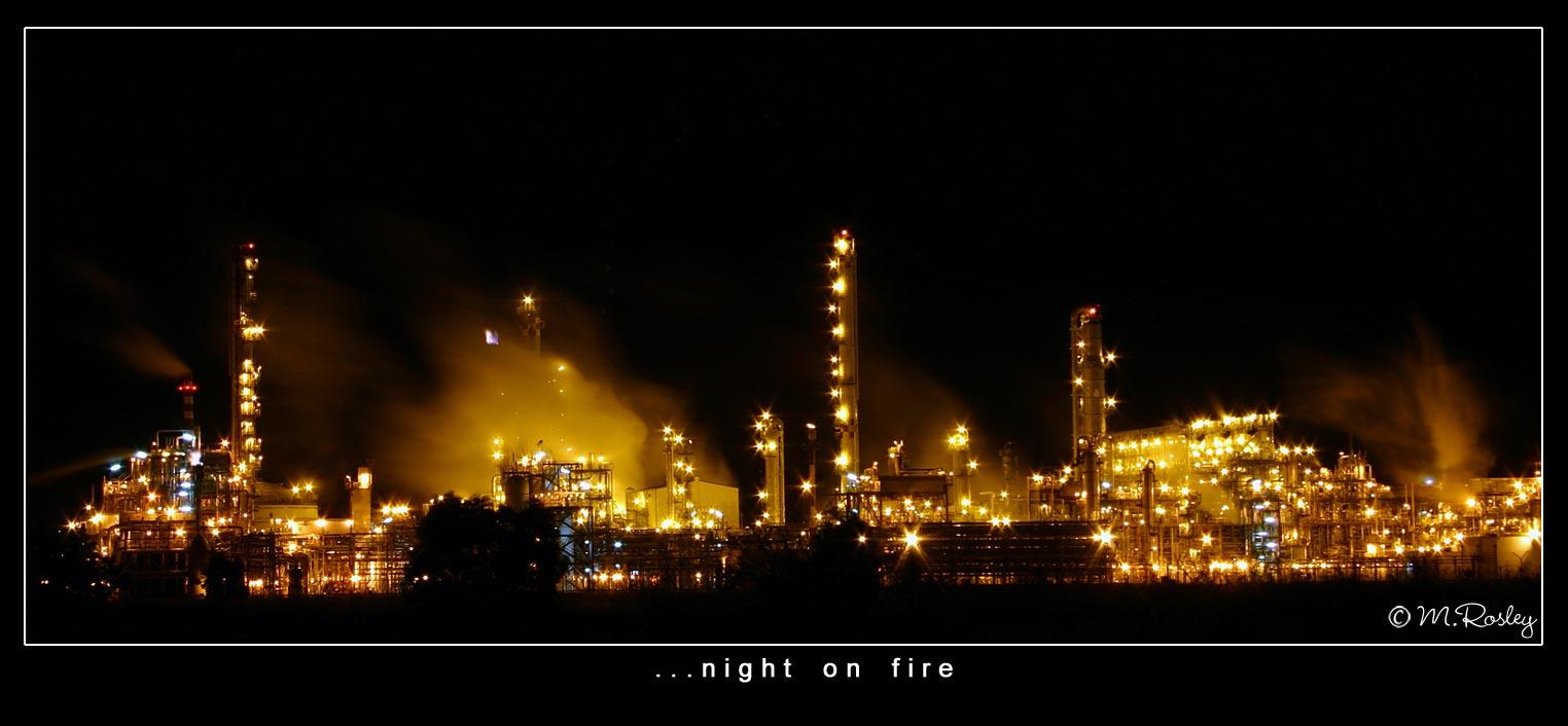 night on fire author omar mr