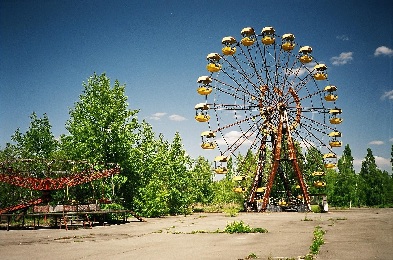 apollo park pripyat compare with photo from and se rance ian