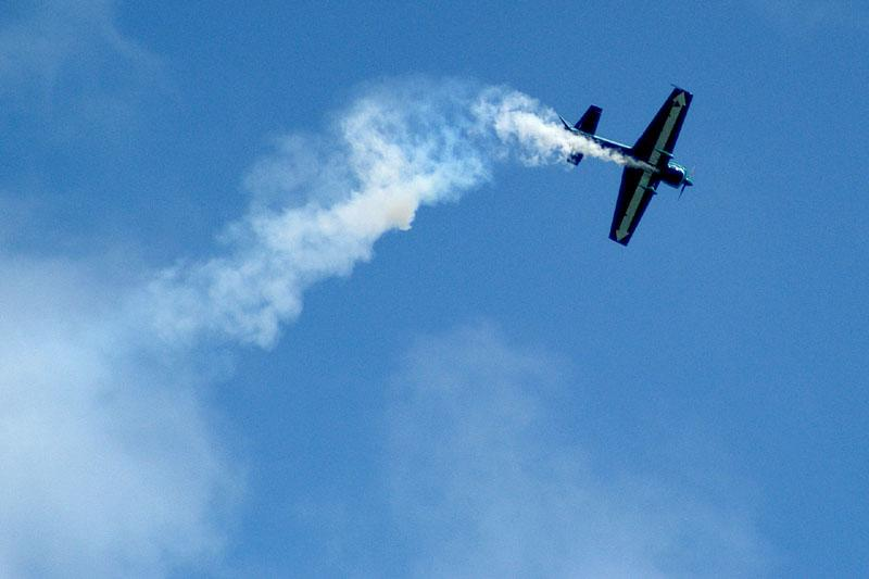 acrobatic plane in air meeting author dupin eric