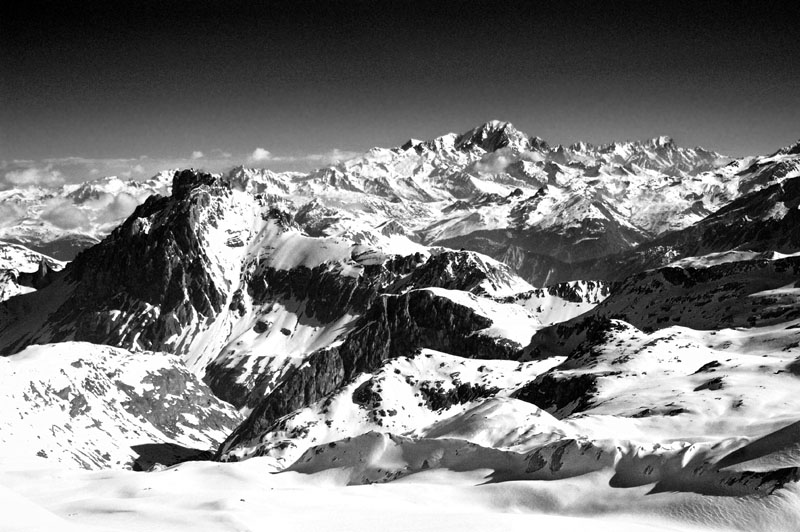 mont blanc from high author dupin eric