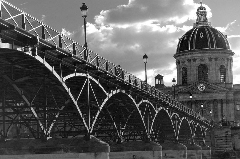 paris pont des arts author dupin eric