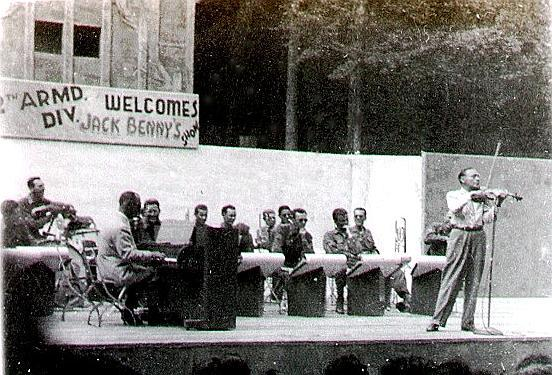jack benny performing for the th armored division westbrook greg