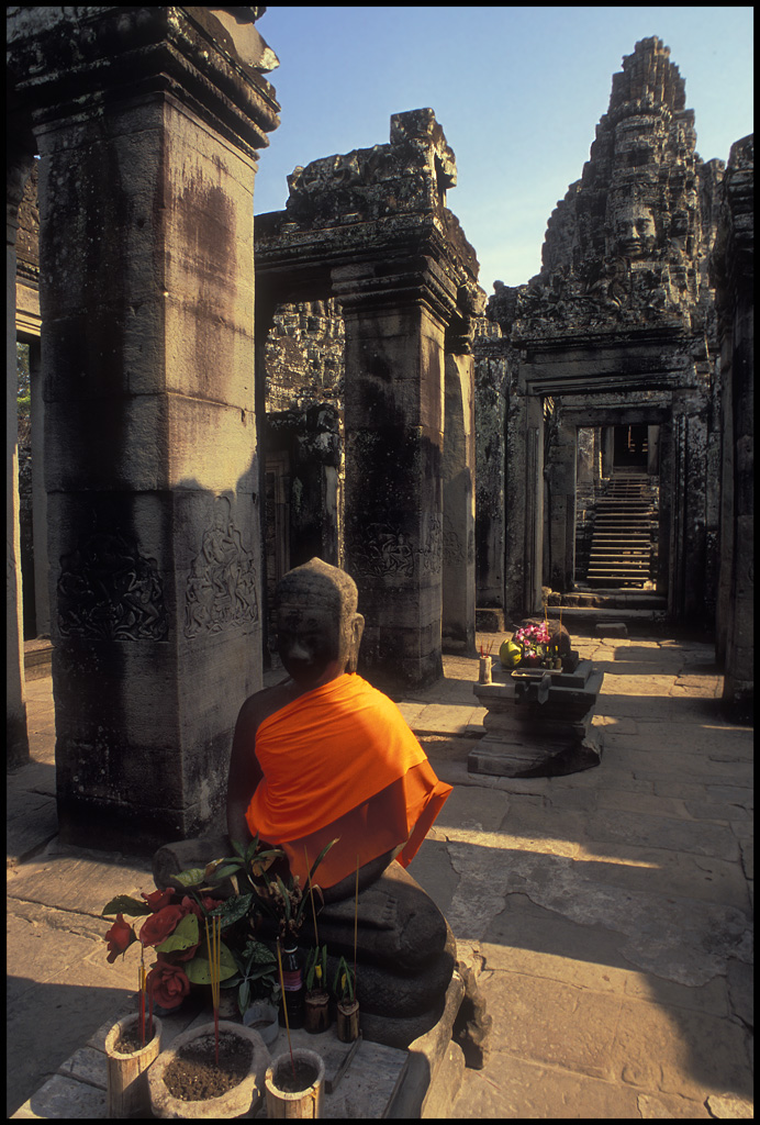 bayon temple cambodia author h michael