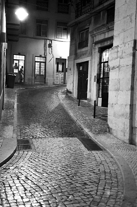 quite street near the center of lisboa author dup dupin eric