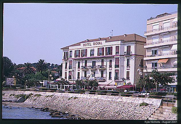 hotel royal antibes author nicholls kyle