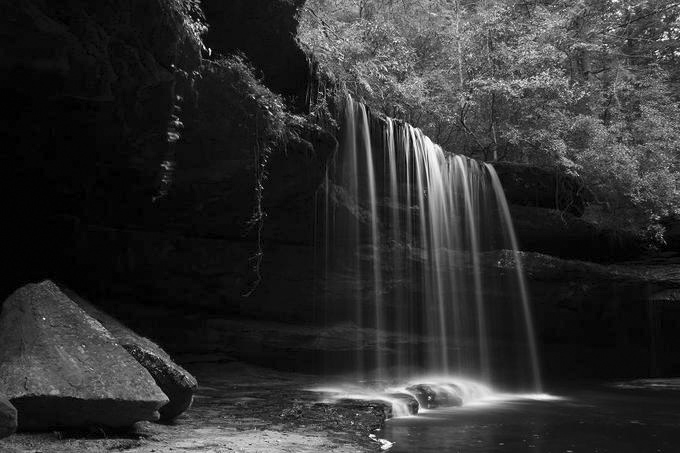 upper caney falls grayscale conversion author szulecki joshua