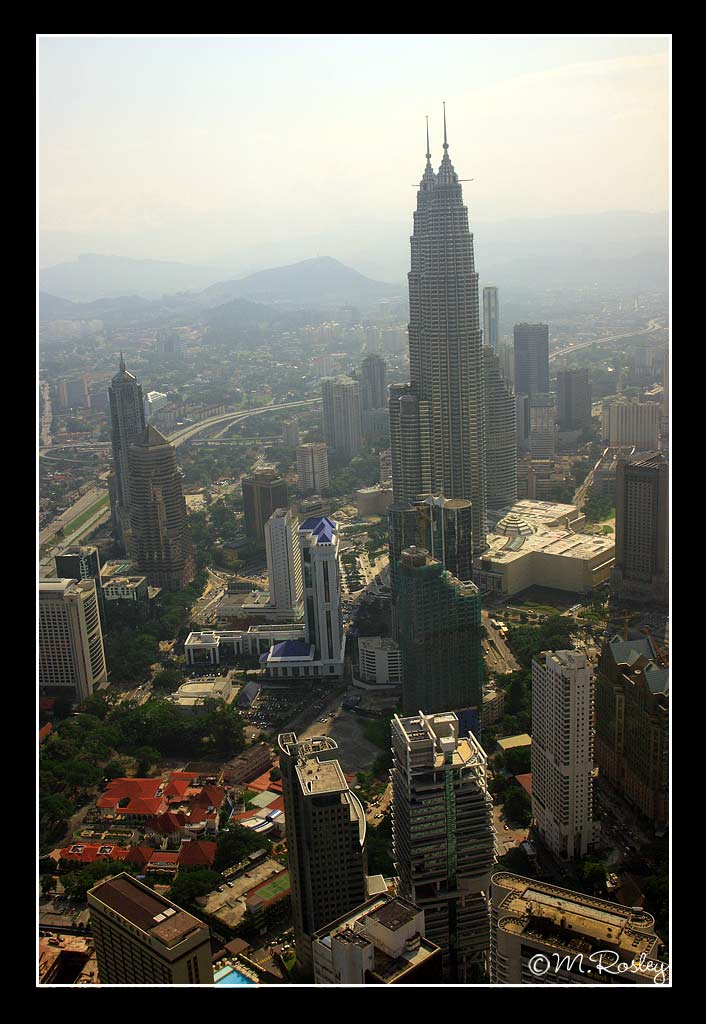 twin tower from above author omar mr