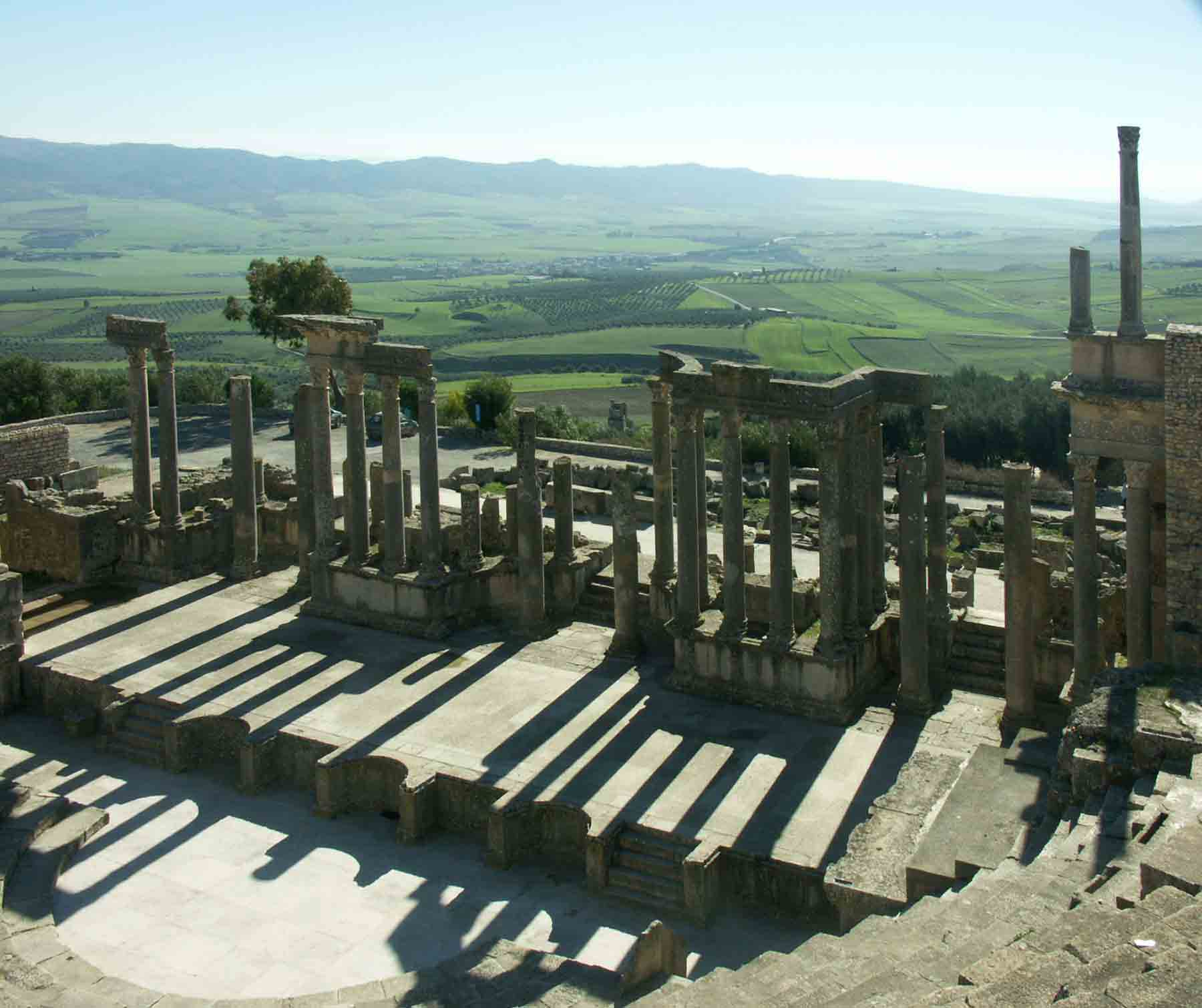 roman theater at dougga author downs jim
