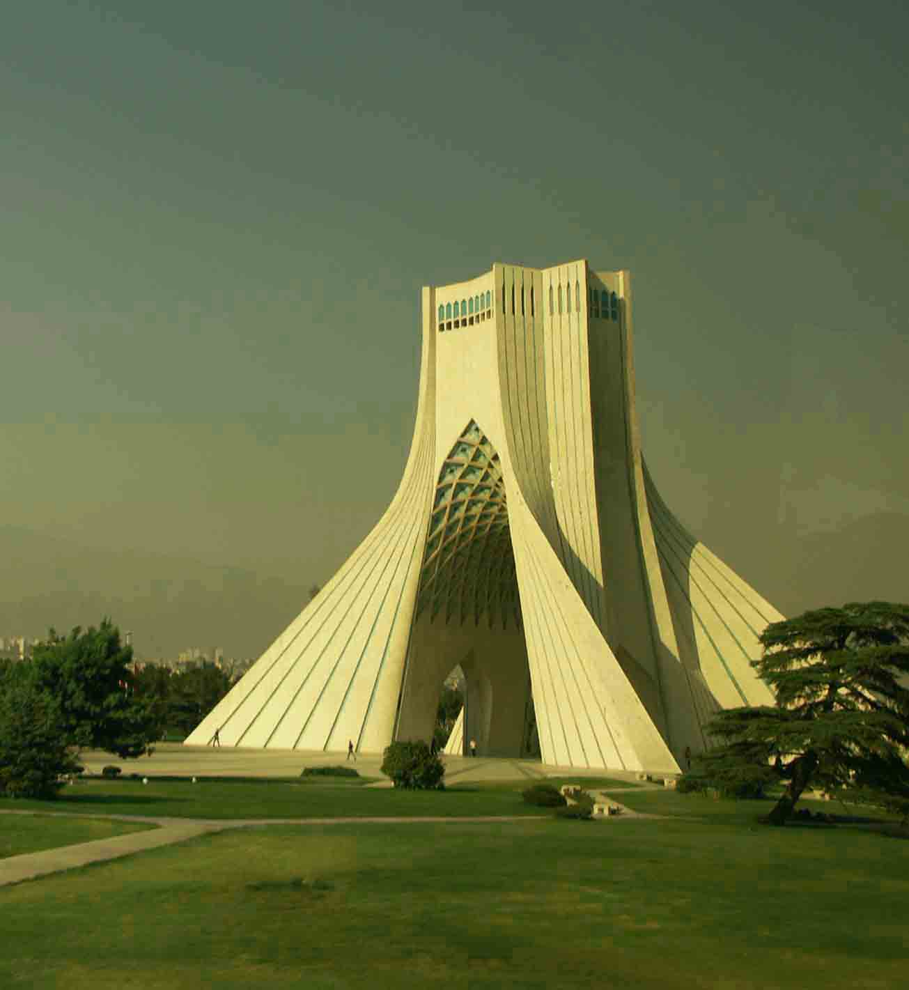 azadi monument tehran celebrates year anniversar downs jim