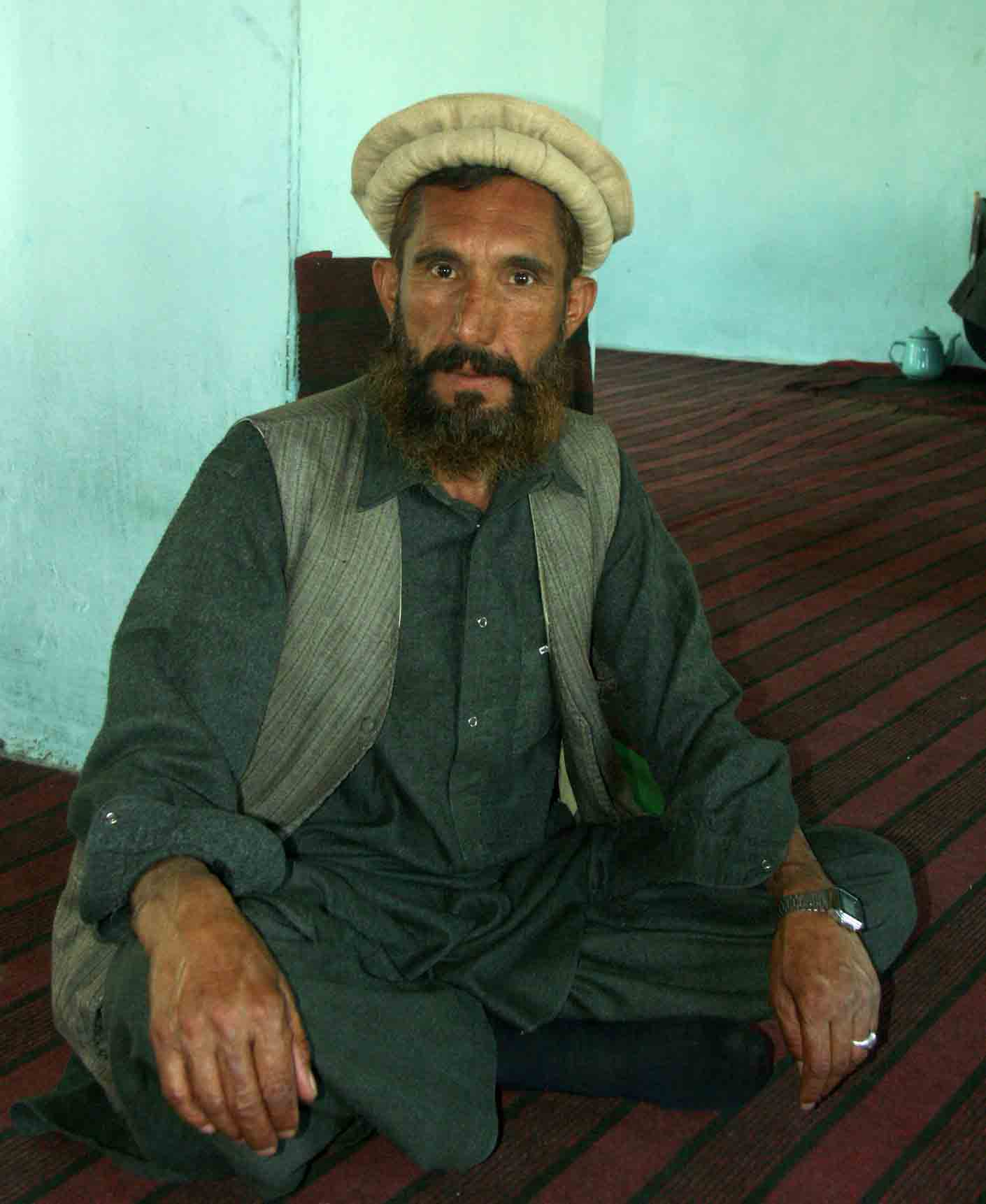 intense afghani in rural village author downs jim
