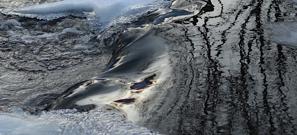 winter river flow patterns viewed larger author s soini hannu