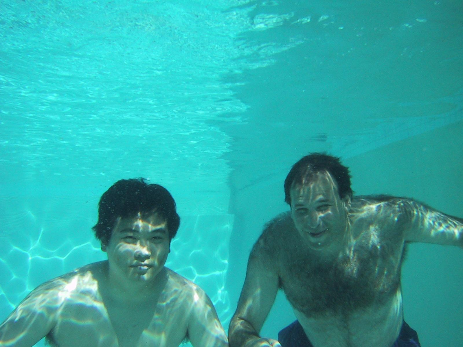 jin and philip in pool author greenspun