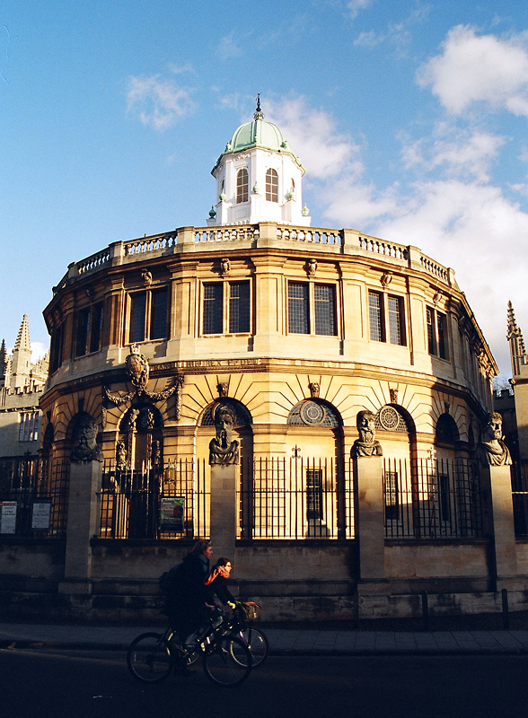 the sheldonian theatre author ilnyckyj milan
