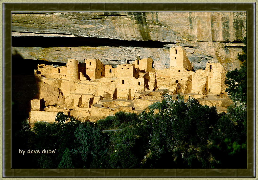 mesa verde at sunset author dube dave