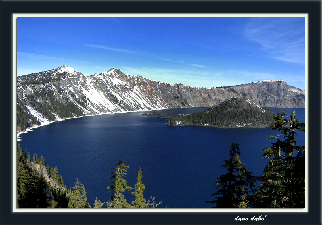 crater lake or in early summer author dube dave