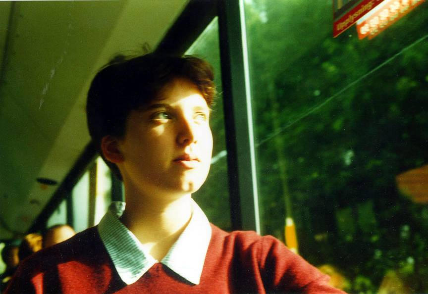 on the bus author fricke tobin