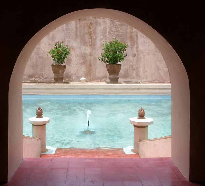 th c sultan s palace pool in yogyakarta author d downs jim