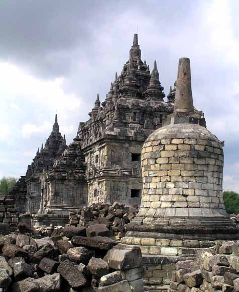 prambanan hindu site author downs jim