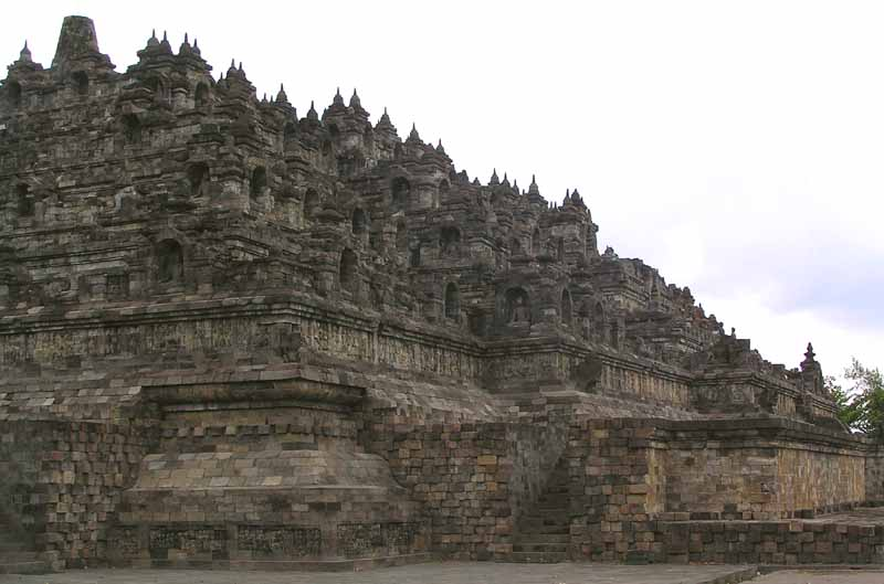 borobudur th to c buddhist temple author dow downs jim