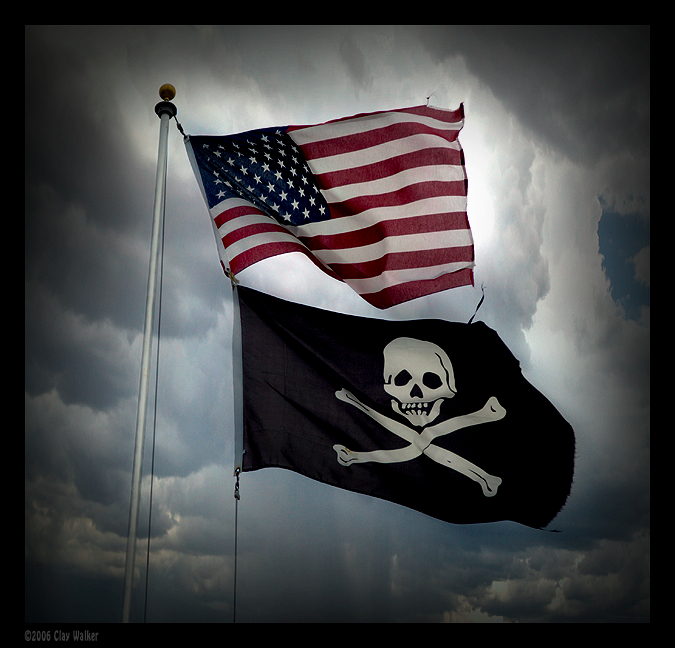 usa pirate flags author walker clay