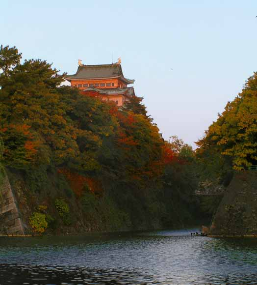 nagoya castle moat author downs jim