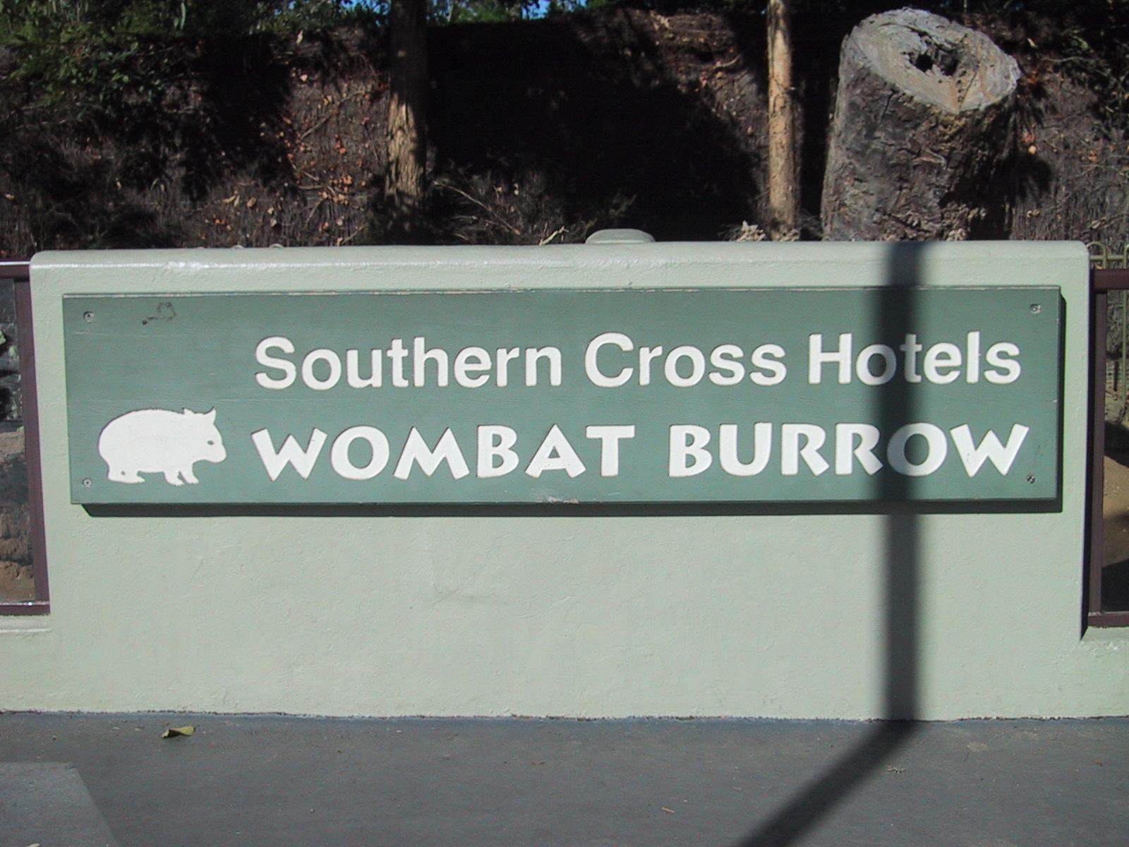 southern cross wombat burrow author greenspun phi philip