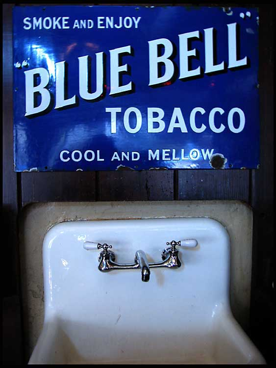 blue bell tobacco author patterson steve