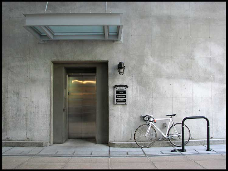 elevator and bicycle author patterson steve