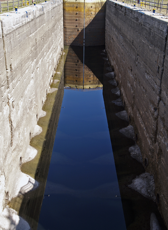 erie barge canal lock author hull ray