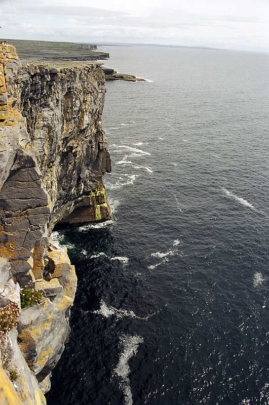 sea cliffs on inis mor author ilnyckyj milan