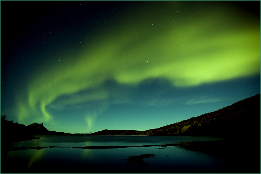 northern lights over hamar y author olsen eskil