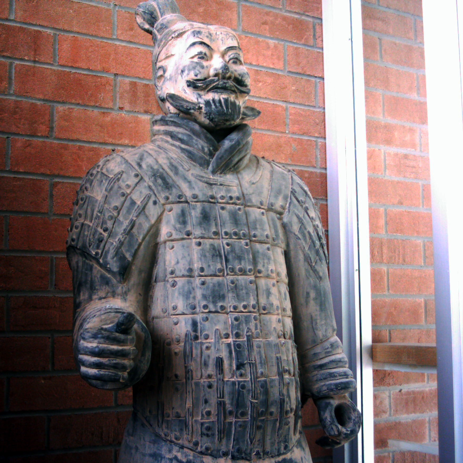 terracota warrior replica author tai martin