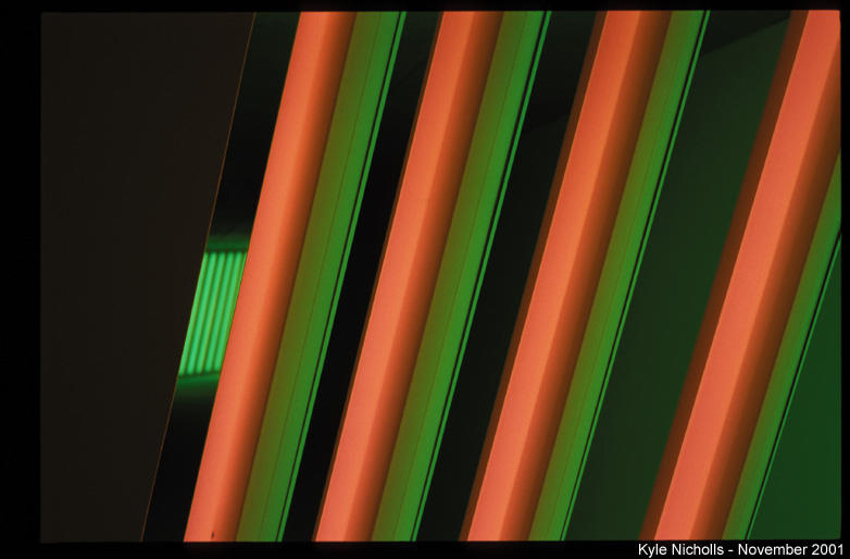 dan flavin fluorescent light detail author nichol nicholls kyle