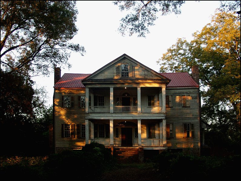 old house at sunset ii fall author kelly landrum