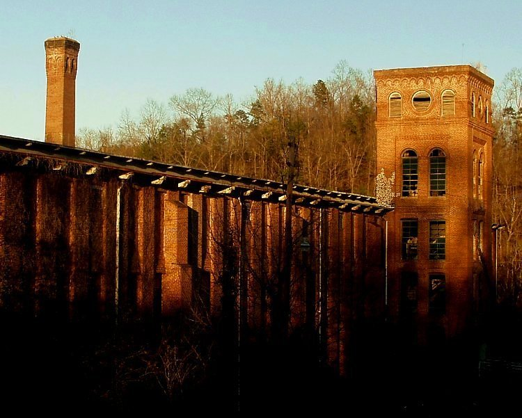 abandoned mill in newry south carolina author kel kelly landrum