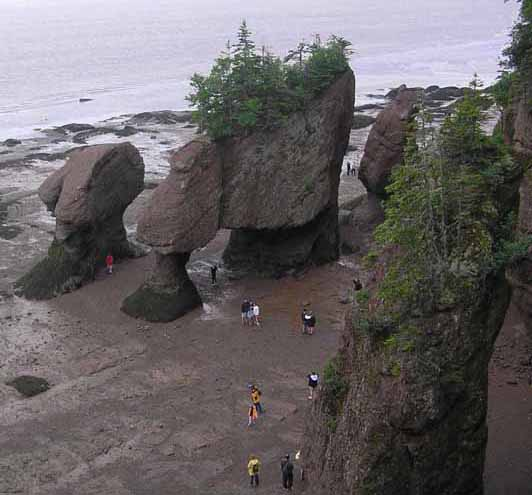 hopewell rocks author downs jim