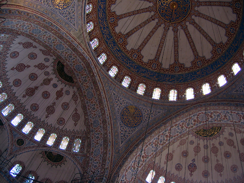 blue mosque domes author ilnyckyj milan