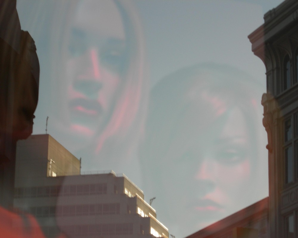 two mannequins in the dublin sky author dreizler bob