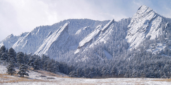 the flatirons in snow author gricoskie jared